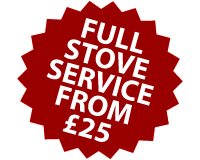 Stove servicing from £25