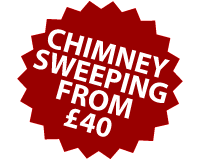 Chimney sweeping from £40